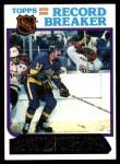 1980 Topps #4   -  Charlie Simmer Record Breaker Front Thumbnail