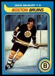 1979 Topps #114  Mike Milbury  Front Thumbnail