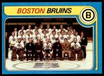 1979 Topps #245   Bruins Team Checklist Front Thumbnail