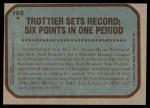 1979 Topps #165   -  Bryan Trottier  Record Breaker Back Thumbnail