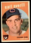 1959 Topps #301  Earl Averill Jr.  Front Thumbnail