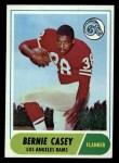 1968 Topps #28  Bernie Casey  Front Thumbnail
