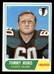 1968 Topps #151  Tommy Nobis  Front Thumbnail