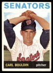 1964 Topps #518  Carl Bouldin  Front Thumbnail