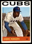 1964 Topps #336  Andre Rodgers  Front Thumbnail