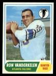 1968 Topps #125  Ron Vanderkelen  Front Thumbnail