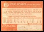 1964 Topps #457  Jesse Gonder  Back Thumbnail