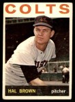 1964 Topps #56  Hal Brown  Front Thumbnail