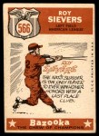 1959 Topps #566   -  Roy Sievers All-Star Back Thumbnail