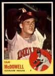 1963 Topps #317  Sam McDowell  Front Thumbnail