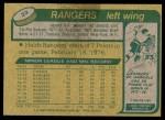1980 Topps #23  Steve Vickers  Back Thumbnail
