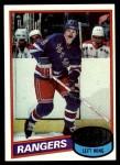 1980 Topps #23  Steve Vickers  Front Thumbnail