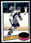 1980 Topps #179  Laurie Boschman  Front Thumbnail