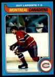 1979 Topps #135  Guy Lapointe  Front Thumbnail