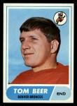 1968 Topps #42  Tom Beer  Front Thumbnail