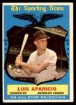 1959 Topps #560   -  Luis Aparicio All-Star Front Thumbnail