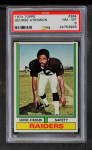 1974 Topps #384  George Atkinson  Front Thumbnail