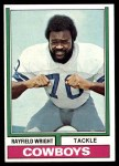 1974 Topps #54 ONE Rayfield Wright  Front Thumbnail