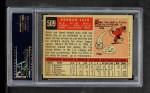 1959 Topps #509  Norm Cash  Back Thumbnail