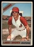 1966 Topps #16  Larry Brown  Front Thumbnail