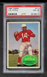 1960 Topps #113  Y.A. Tittle  Front Thumbnail