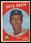 1959 Topps #256  Jerry Davie  Front Thumbnail
