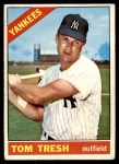 1966 Topps #205  Tom Tresh  Front Thumbnail