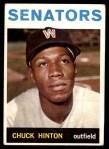 1964 Topps #52  Chuck Hinton  Front Thumbnail