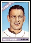 1966 Topps #152  Frank Malzone  Front Thumbnail