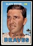 1967 Topps #328  Clete Boyer  Front Thumbnail