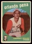 1959 Topps #271  Orlando Pena  Front Thumbnail