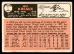 1966 Topps #22  Joe Nossek  Back Thumbnail