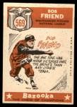 1959 Topps #569   -  Bob Friend All-Star Back Thumbnail