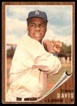 1962 Topps #358  Tommy Davis  Front Thumbnail