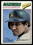 1977 Topps #606  Steve Braun  Front Thumbnail