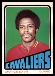 1972 Topps #27  Charles Davis   Front Thumbnail