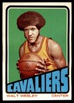 1972 Topps #109  Walt Wesley   Front Thumbnail