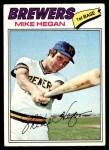 1977 Topps #507  Mike Hegan  Front Thumbnail