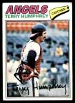 1977 Topps #369  Terry Humphrey  Front Thumbnail