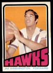 1972 Topps #22  Jim Washington   Front Thumbnail