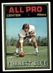 1974 Topps #124 AP  -  Forrest Blue All-Pro Front Thumbnail