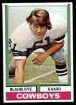 1974 Topps #2  Blaine Nye  Front Thumbnail