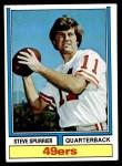 1974 Topps #215  Steve Spurrier  Front Thumbnail