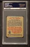 1949 Bowman #199  Tex Hughson  Back Thumbnail