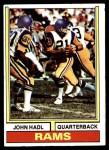 1974 Topps #50 ONE John Hadl  Front Thumbnail