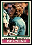 1974 Topps #200  Bob Griese  Front Thumbnail