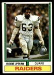 1974 Topps #65 ONE Gene Upshaw  Front Thumbnail