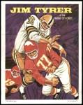 1970 Topps Poster #4  Jim Tyrer  Front Thumbnail
