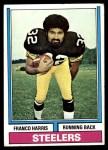 1974 Topps #220  Franco Harris  Front Thumbnail