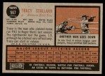 1962 Topps #567  Tracy Stallard  Back Thumbnail